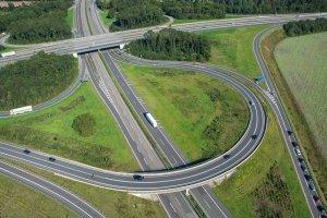 Autobahn Luftbild