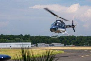 Landeanflug Jetranger