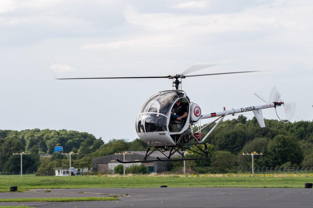 Schweizer 300C Hubschrauber